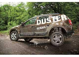 Даже независимая подвеска полноприводной версии Duster недемонстрирует очень большого хода. И все же данная ситуация для машины – непроблема.