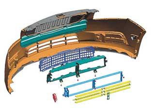Инженеры General Motors для модели Chevrolet Cruze Eco разработали решетку радиатора с активными заслонками (жалюзи), которые регулируют подачу воздуха для охлаждения радиаторов.