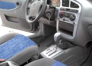 Для Lanos адаптировали силовую установку с4-ступенчатой АКП, знакомой по Chevrolet Aveo.