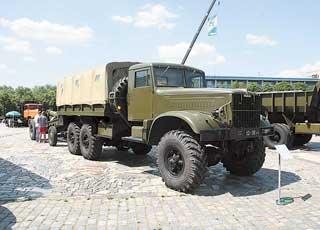 Cамосвал КрАЗ-222