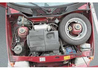 Среди экземпляров последних годов выпуска чаще встречаются автомобили, оснащенные инжекторными моторами 1,2и 1,3 л.