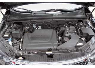 Крутящий момент 2,2-литрового турбодизельного мотора дляверсии с «автоматом» увеличен с 422 Нм (в модификации с«механикой») до436Нм.