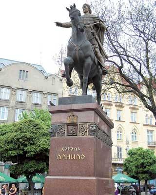 Город был основан вXIII веке князем Данилой Галицким иназван вчесть его сына– Льва.