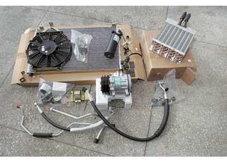 В случае серьезного механического износа деталей компрессора всю систему нужно промывать (1000 грн.), анекоторые узлы (конденсор, осушитель) рекомендуют заменить новыми.