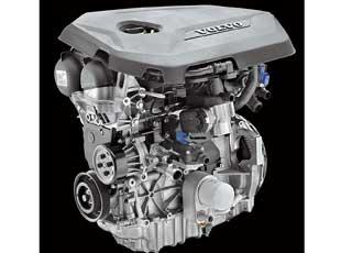 Компания Volvo представила два новых 1,6-литровых бензиновых мотора T3 и T4 c турбонаддувом и непосредственным впрыском топлива GTDi, которые соответствуют нормам Евро 5.