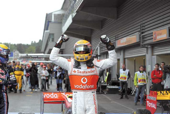Формуле-1, Гран-при Бельгии
