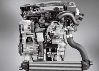 Новый турбодизель имеет общую топливную рампу, непосредственный впрыск и турбокомпрессор с изменяемой геометрией турбины.