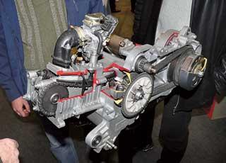 При экспертном исследовании объем двигателя ТС определяется различными способами, втом числе путем демонтажа ГБЦ и замера выдавливаемого масла или воздуха изцилиндра.