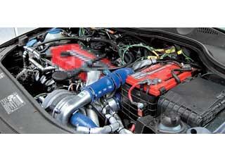 Турбонагнетатель CPT может устанавливаться как на атмосферные, так и на турбированные моторы.