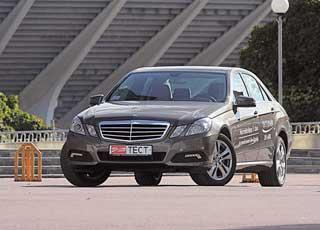 На Детройтском автосалоне представлено очередное поколение Mercedes E-Кlasse в кузове W212.