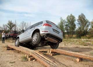 В минувшую субботу, 11 сентября, автоцентр «Атлант-М Днепровская набережная» организовал загородный тест-драйв VW Touareg.