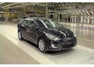 В Санкт-Петербурге состоялось торжественное открытие нового автосборочного завода Hyundai.