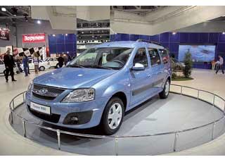 Автомобиль, показанный «ВАЗом» в августе на Московском автосалоне как «Проект R90», представляет собой фактически Renault Logan MCV с эмблемой Lada.