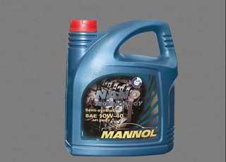 Mannol  стал одним из первых, кто объявил, что синтезировал свое масло с использованием нанотехнологий.