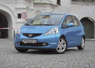 Второе поколение Honda Jazz