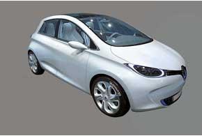 Электрический Renault ZOE попадет на конвейер к 2012 году.
