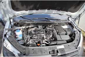 Моторы TDI с системой Common Rail тише и экономичнее прежних. Пластиковая крышки для двигателя не предусмотрена.