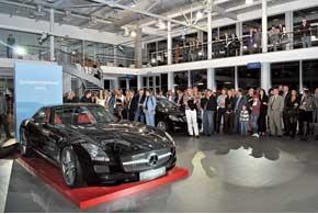 B Днепропетровске 29 сентября состоялось открытие специализированного центра по продаже и техническому обслуживанию автомобилей Mercedes-Benz.