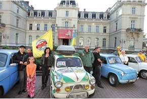 В рамках празднования Международного дня туризма Львовский авто-фан-клуб «ЗАЗ-Козак» организовал и провел Международный автопробег ретромашин «Золотая подкова Львовщины-2010».