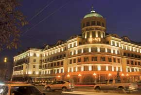 Пятизвездочная гостиница «Донбасс-Палас» – одна из самых дорогих в Украине.