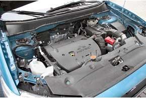 2,0-литровый 150-сильный двигатель – самый мощный в гамме. Кстати, он же устанавливается на Lancer X и Outlander XL.