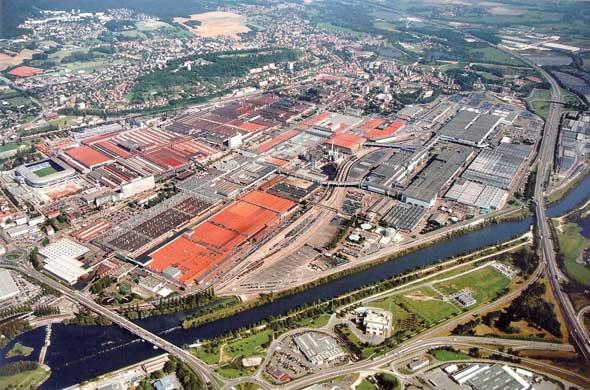 автомобильный завод PSA