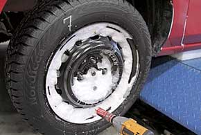 Тест новых зимних шин 175/65 R14