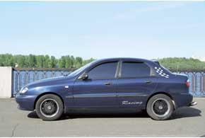 Кузова Lanos частично оцинкованы, и ржавчина появляется либо на экземплярах после аварий, либо на самых старых авто.