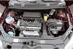 Мотор Skoda Fabia FL