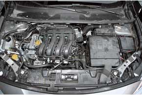 Двигатель Renault обладает неплохой мощностью, но до 2,5 тыс. об/мин он вялый.