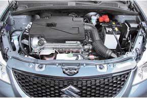 Простой, но проворный мотор Suzuki очень отзывчив, что обеспечивает неплохую динамику.