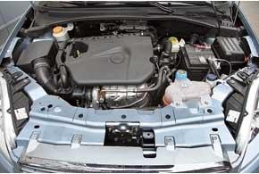 Двигатель Fiat 1,4л самый мощный и моментный за счет применения турбонаддува.