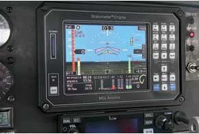 В качестве опционального оборудования для K-10 Swift предлагается несколько типов многофункциональных устройств (МФУ), объединяющих целый комплекс навигационных приборов.