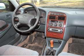 Претензий к обзорности и эргономике Avensis, как, впрочем, иMazda626, нет. Единственная типичная неполадка в салоне – поломка замка зажигания (в нем может выгореть контактная группа).