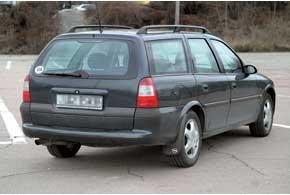 Opel Vectra (В) Caravan