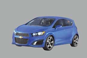 В отличие от концепта RS турбированного мотора в серийной машине небудет.