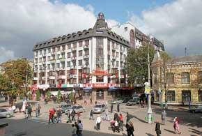 Одна из центральных улиц города – Проскуровская.