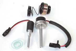 Дизель можно укомплектовать подогревателем топлива в баке или фильтром сподогревом.