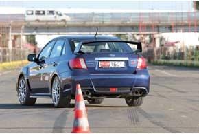 По отношению к данной машине вSubaruтеперь неиспользуют название Impreza, оставив его для более «гражданских» версий.