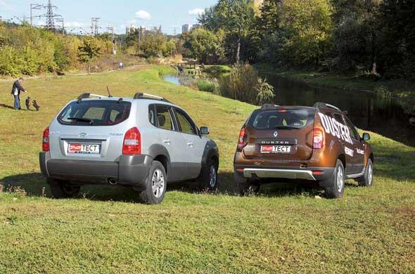 Для езды в темное время суток больше подходит Renault – свет фар здесь существенно лучше.