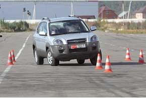 В автомобилях Hyundai с гидроусилителем руль при быстром вращении всегда «прикусывает». Tucson – не исключение.