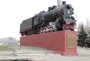 Пушки и паровозы сыграли значительную роль в истории Луганска.