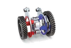 Функцию синхронизаторов вКП без сцепления выполняет кулачково-дисковый механизм.