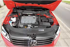 Двигатель VW Passat Variant B7