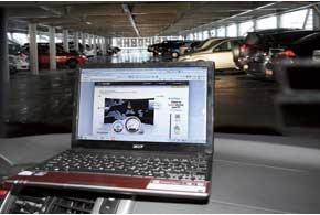 На средних этажах многоуровневого паркинга лучше ставить авто ближе ккраю площадки.