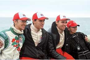 В командном зачете более чем убедительную победу одержали харьковчане из «ХАДО Моторспорт».