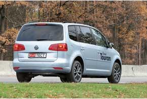 Типичный Volkswagen. Большие фонари словно сняты стакого крупного авто, как тот же Touareg.
