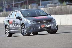 третья генерация Toyota Avensis.
