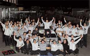 Чемпионство  пилота Mercedes Пола ди Ресты наконец прервало трехлетнюю беспроигрышную серию Audi.