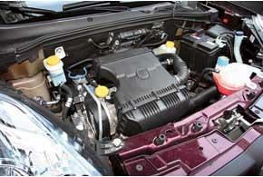 Для авто предложен только один бензиновый мотор (1,4 л, 95 л. с.). И пусть машина с ним не радует динамикой, но двигатель работает достаточно мягко и экономично.